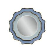 Bassett Caprice Wall Mirror - Blue w/ Goldleaf