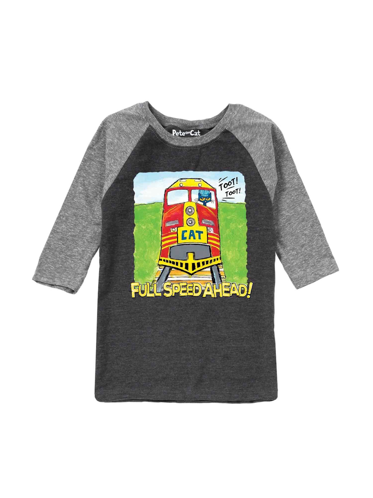 Pete the Cat Keepin It Groovy Toddler Raglan