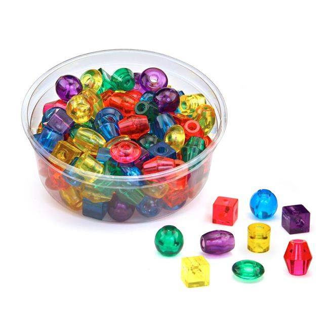 Hygloss Products HYG68101BN 2 Each Translucent Big Beads