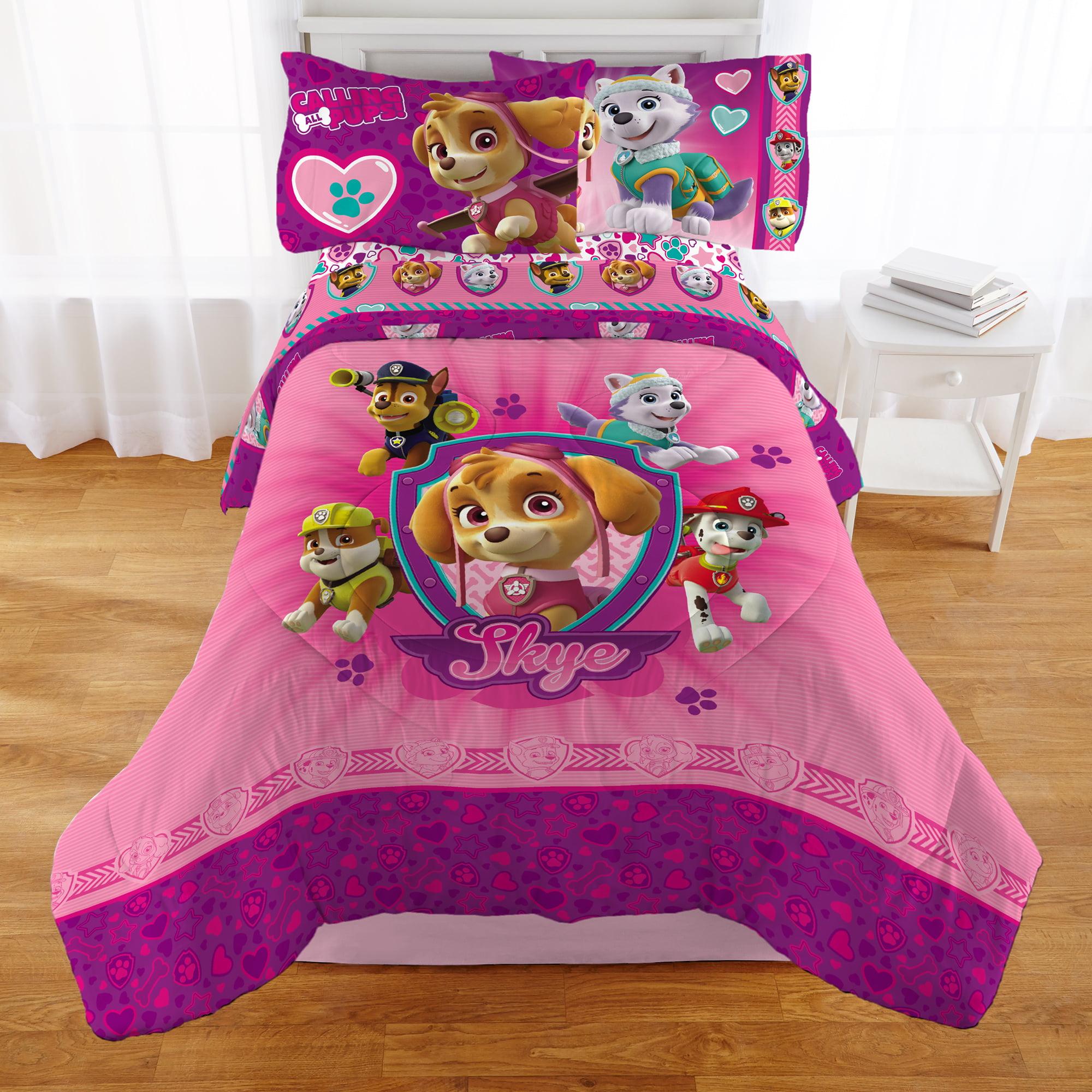 Paw Patrol Girl 'Puptacular' Kids Bedding Comforter, Twin by Franco Manufacturing