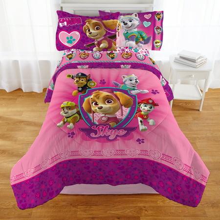 Paw Patrol Girl 'Puptacular' Kids Bedding Comforter, Twin - Tween Girls