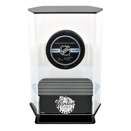 Caseworks International NHL 2015 Winter Classic Floating Hockey Puck Display Case