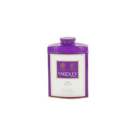 50888cbe4efd (pack 2) April Violets Talc By Yardley London7 oz