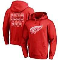 Detroit Red Wings Raise the Banner Pullover Hoodie - Red