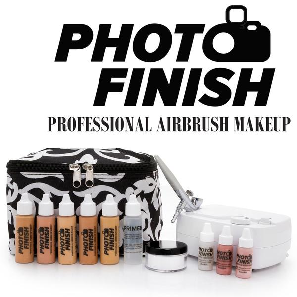 Photo Finish Airbrush Makeup Kit Medium to Tan Luminous