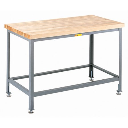 Miraculous Little Giant Usa Adjustable Height Butcher Block Top Workbench Gmtry Best Dining Table And Chair Ideas Images Gmtryco