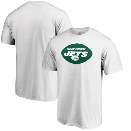 New York Jets NFL Pro Line by Fanatics Branded Primary Logo T-Shirt - White