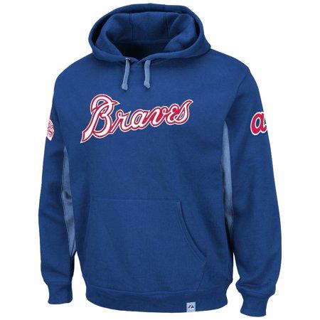 "Atlanta Braves Majestic MLB ""Timeless"" Cooperstown Hooded Sweatshirt by"