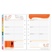 Classic Her Point of View Ring-bound Weekly Planner - Jul 2016 - Jun 2017