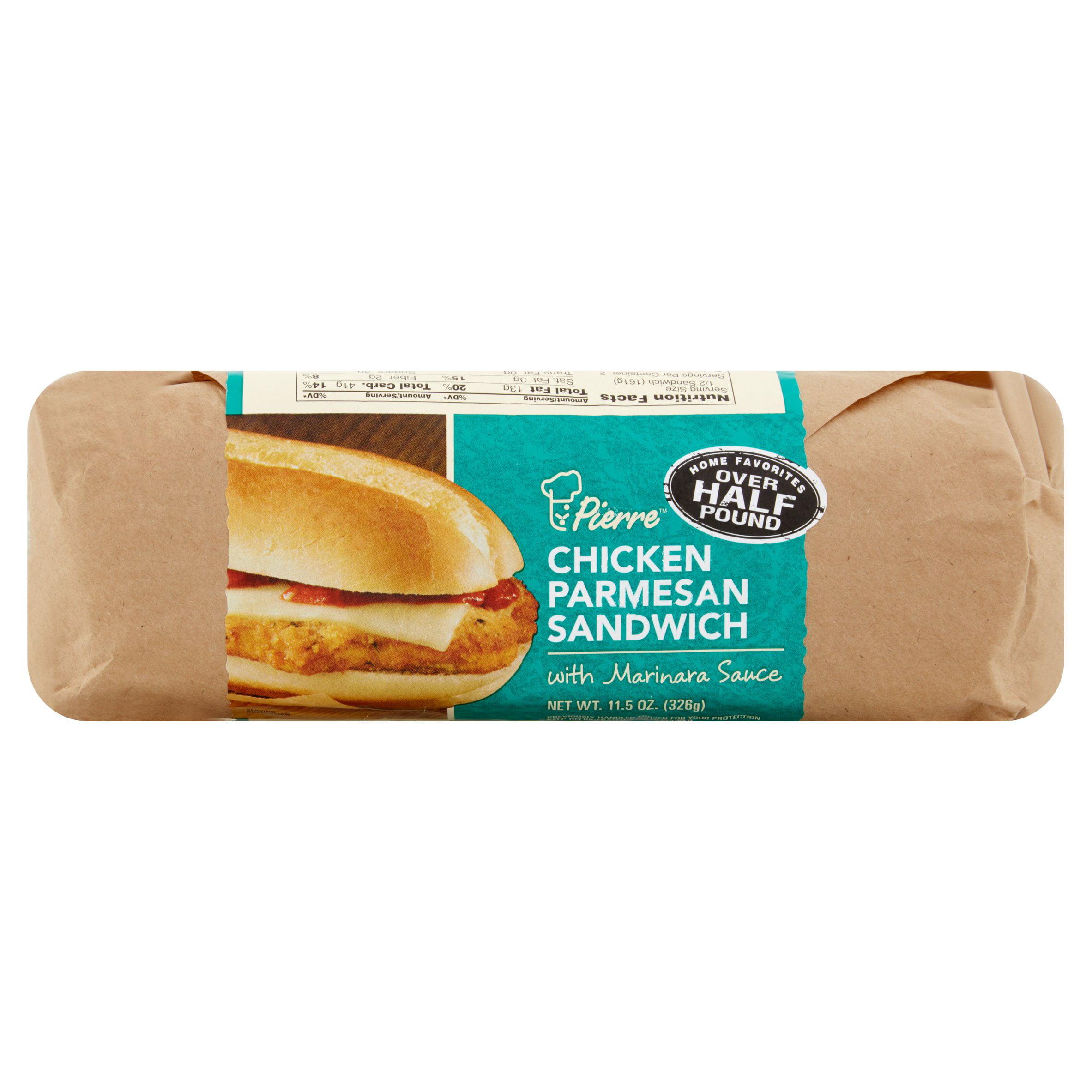 Pierre Chicken Parmesan Sandwich With Marinara Sauce 11 5 Oz Walmart Com