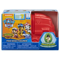 PAW Patrol, Dino Rescue Collectible Blind Box Mini Figure and Mystery Dinosaur (Style May Vary)