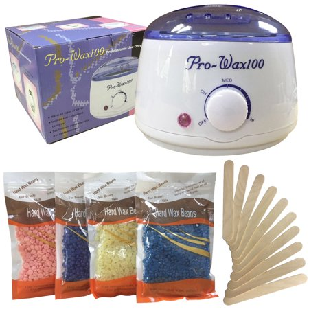Stardget Wax Warmer Hair Removal Kit with Hard Wax Beans and Wax Applicator
