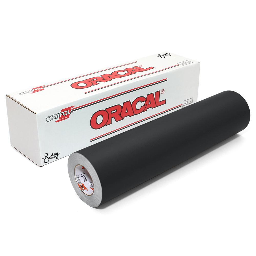 Oracal 651 Matte Vinyl Rolls - Black