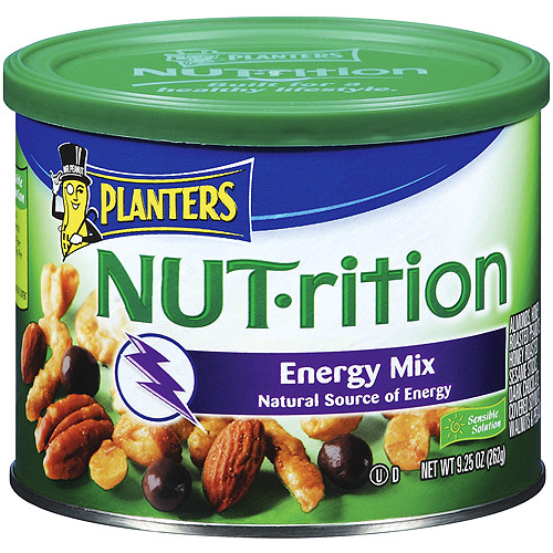 Planters Energy Mix Nut-Rition Mixed Nuts, 9.25 oz
