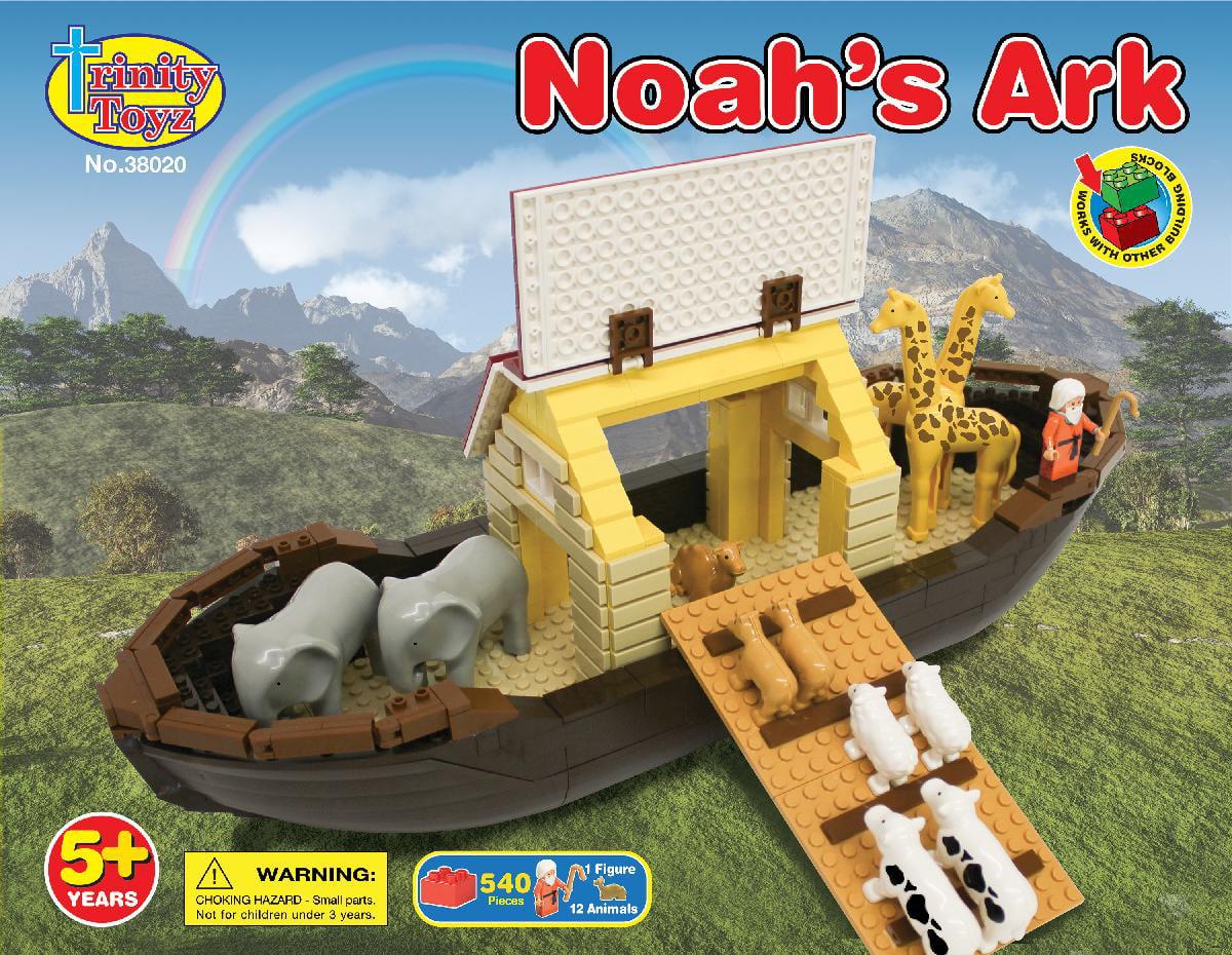 Noah's Ark 540 Piece Compatible Building Block Set by Brand