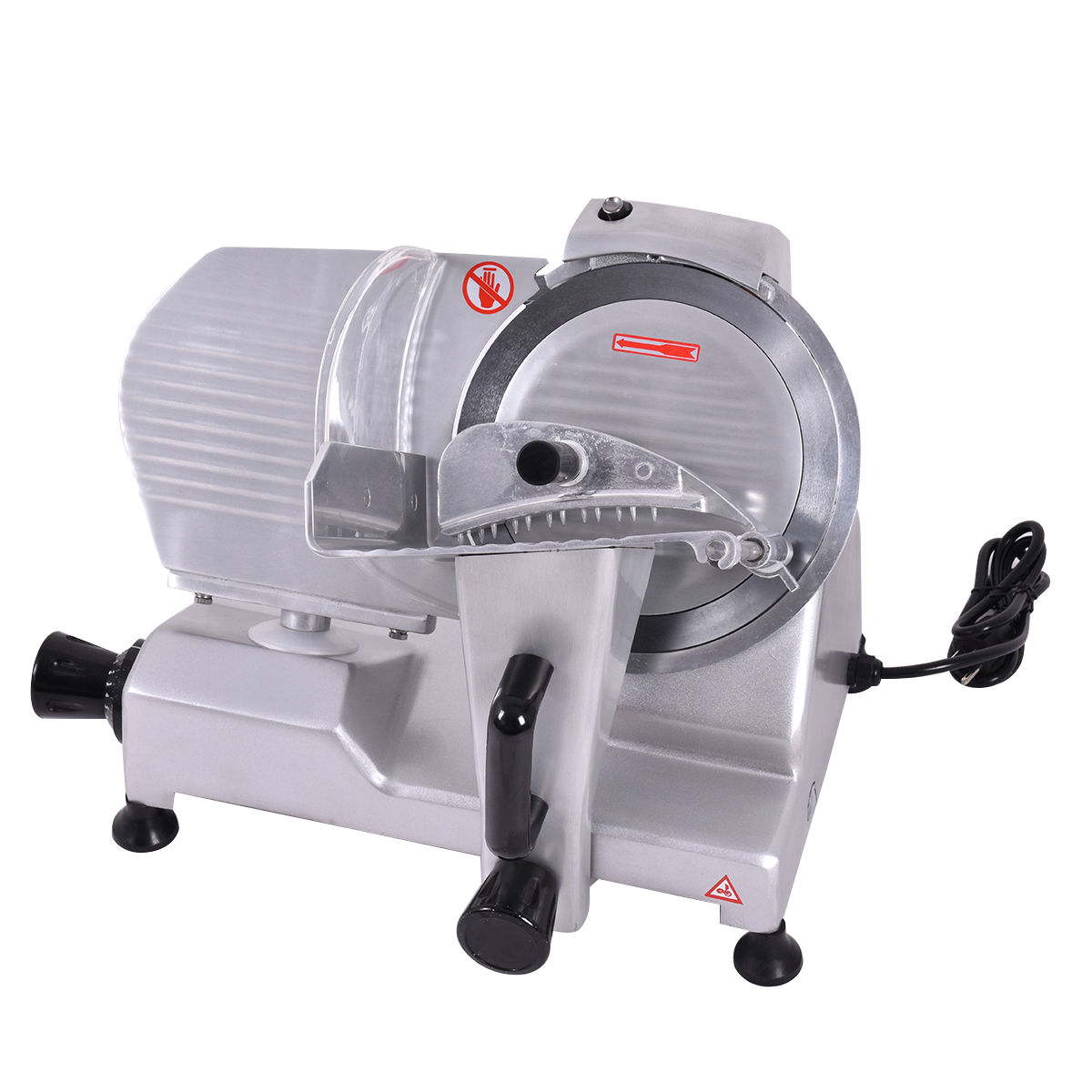 Costway 9'' Blade Commercial Meat Slicer Deli Meat Cheese...