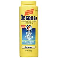 5 Pack Desenex Athletes Foot Antifungal Shake Powder 3oz Each