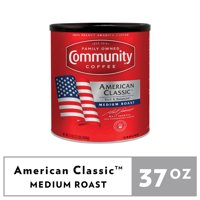 Community Coffee American Classic Medium Roast Ground Coffee 37oz Canister