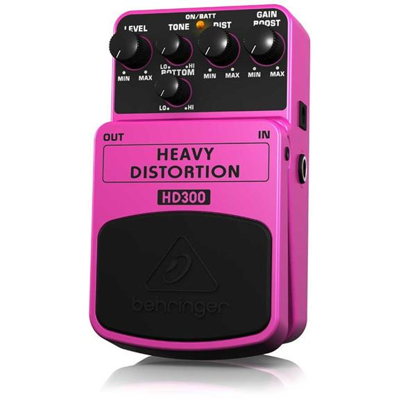 Behringer HD300 Heavy Distortion Pedal