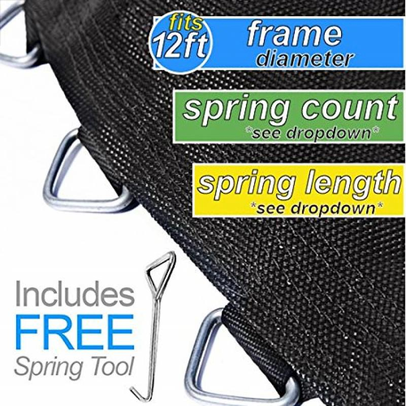 Replacement Trampoline Mat By Trampoline Pro Mats That