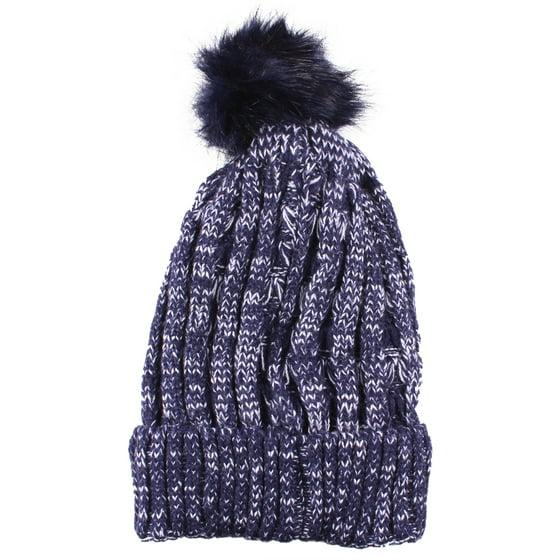 77f4b5aec6e Enimay - Enimay Women Winter Pom Pom Beanie Hat Slouchy Snow Knit Skull Ski  Cap 0512 - Dusty Pink - Walmart.com