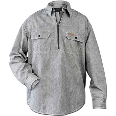 Hickory Shirt Co. Long Sleeve 1/2 Zip Shirt - Tall (1/2 Zip Ls Shirt)