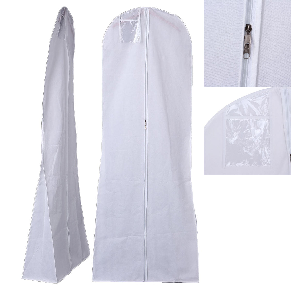 5 Pink Breathable Cloth Wedding Gown Dress Garment Bag