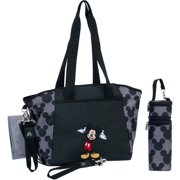 Disney Mickey Mouse 5 In 1 Diaper Tote Set