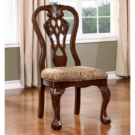 Furniture of America Dubelle Classic Dining Chair - Set of 2