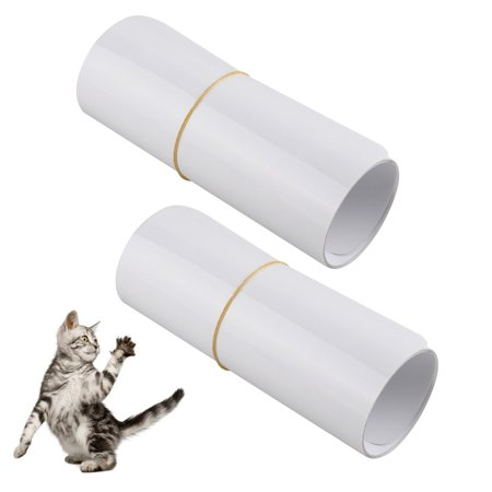 2-pack Pet Cat Scratch Protector, Furniture & Sofa Shield for Dog & Cat Scratching Deterrent, Defender & Repellent Super Sticky Self-Adhesive