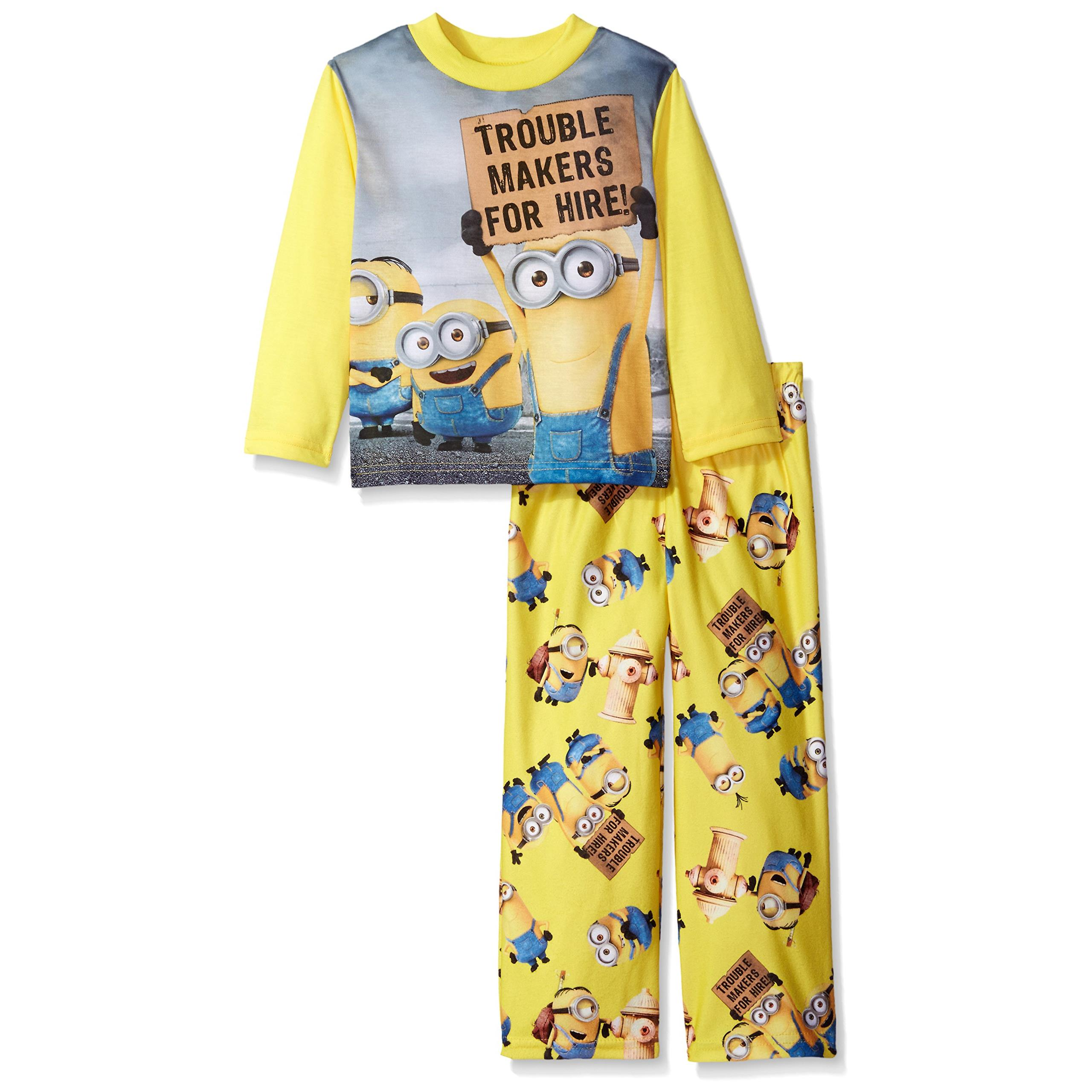 Despicable Me Boys' Minions 2-Piece Pajama Set