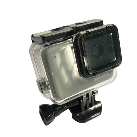 Zoom Underwater Camera Housing (For GoPro Hero 7 Waterproof Case Diving Protective Housing Shell, Underwater Go Pro Camera Accessories)