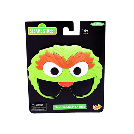 Party Costumes - Sun-Staches - Sesame Street -Oscar the Grouch Sunglasses - Oscar The Grouch Costumes