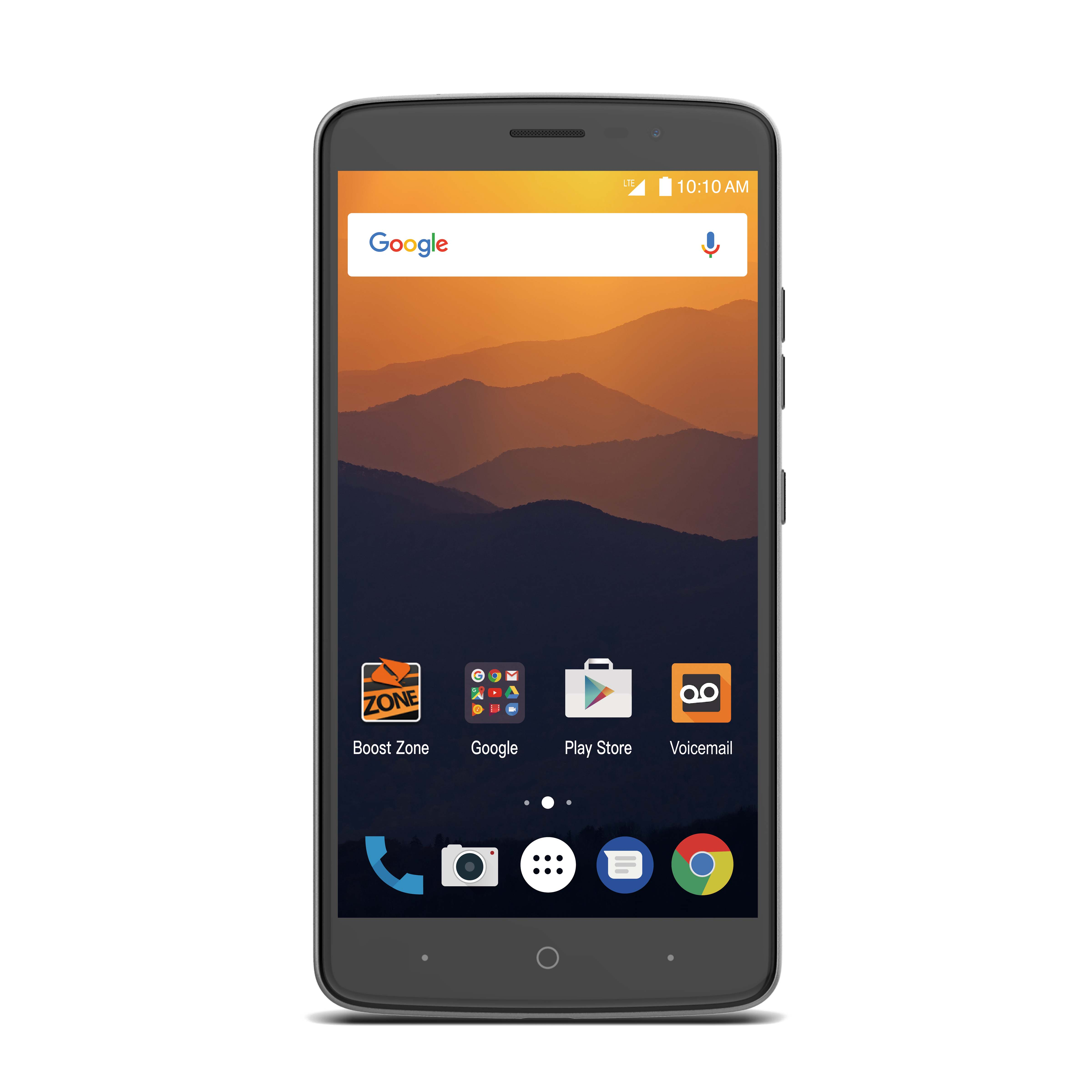 Virgin Mobile ZTE Max XL 16GB Prepaid Smartphone, Gray