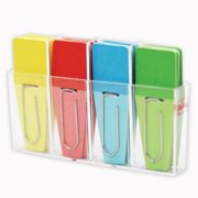 Clip Rite CRT127BN Solid Clip Flags, Red, Blue & Yellow - Pack of 6