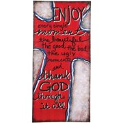 Carson Home Accents 12075 Enjoy Wall Art