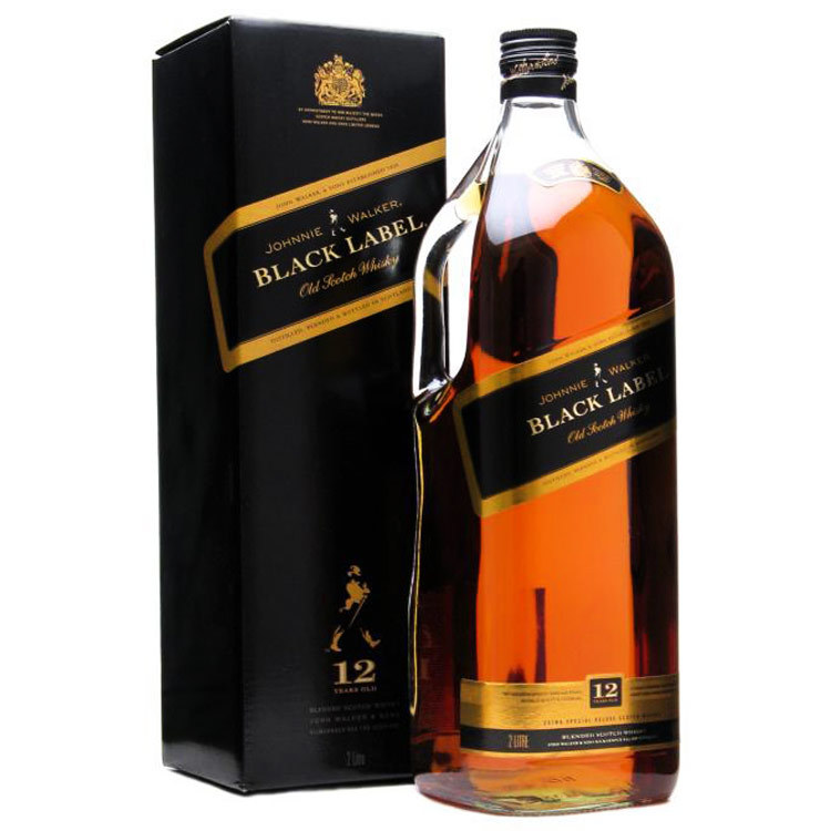 Johnnie Walker Black Label Scotch, 375 mL