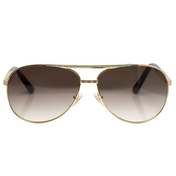 166fa93a034f Louis Vuitton - Louis Vuitton Men s Custom Brown Shades Attitude ...