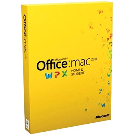 Microsoft Office for Mac Home and Student 2011 - Family Pack Mac Deal