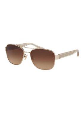37d56b0866c Product Image L151 56mm Pilot Sunglasses. Coach