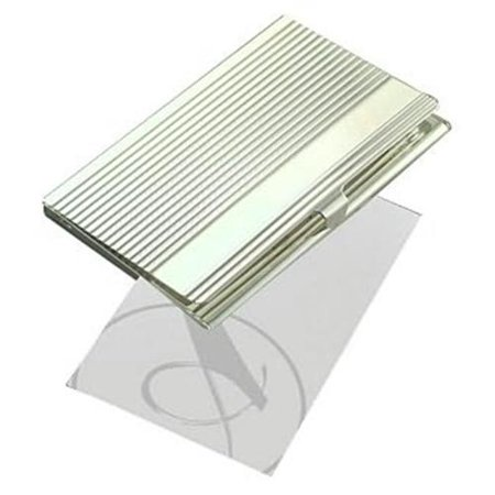 Natico Silver Business Card Case (60-155)