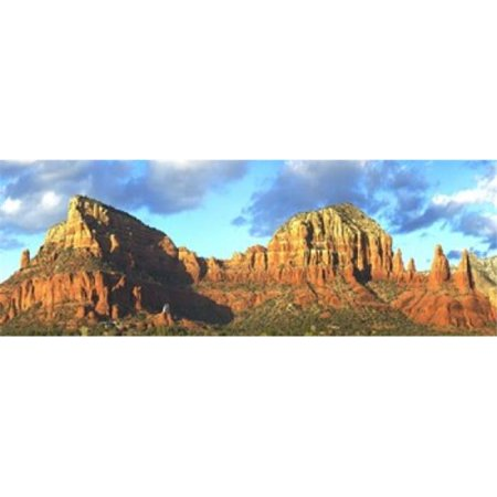 Chapel on rock formations  Chapel Of The Holy Cross  Sedona  Arizona  USA Poster Print by  - 36 x 12 ()