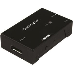 StarTech.com DisplayPort Signal Booster - DisplayPort Extender - DP Video Signal Amplifier - 4K 60Hz - 60 Hz to 60 Hz - 3840 × 2160 - 65.62 ft Maximum Operating Distance - DisplayPort - USB DP EX
