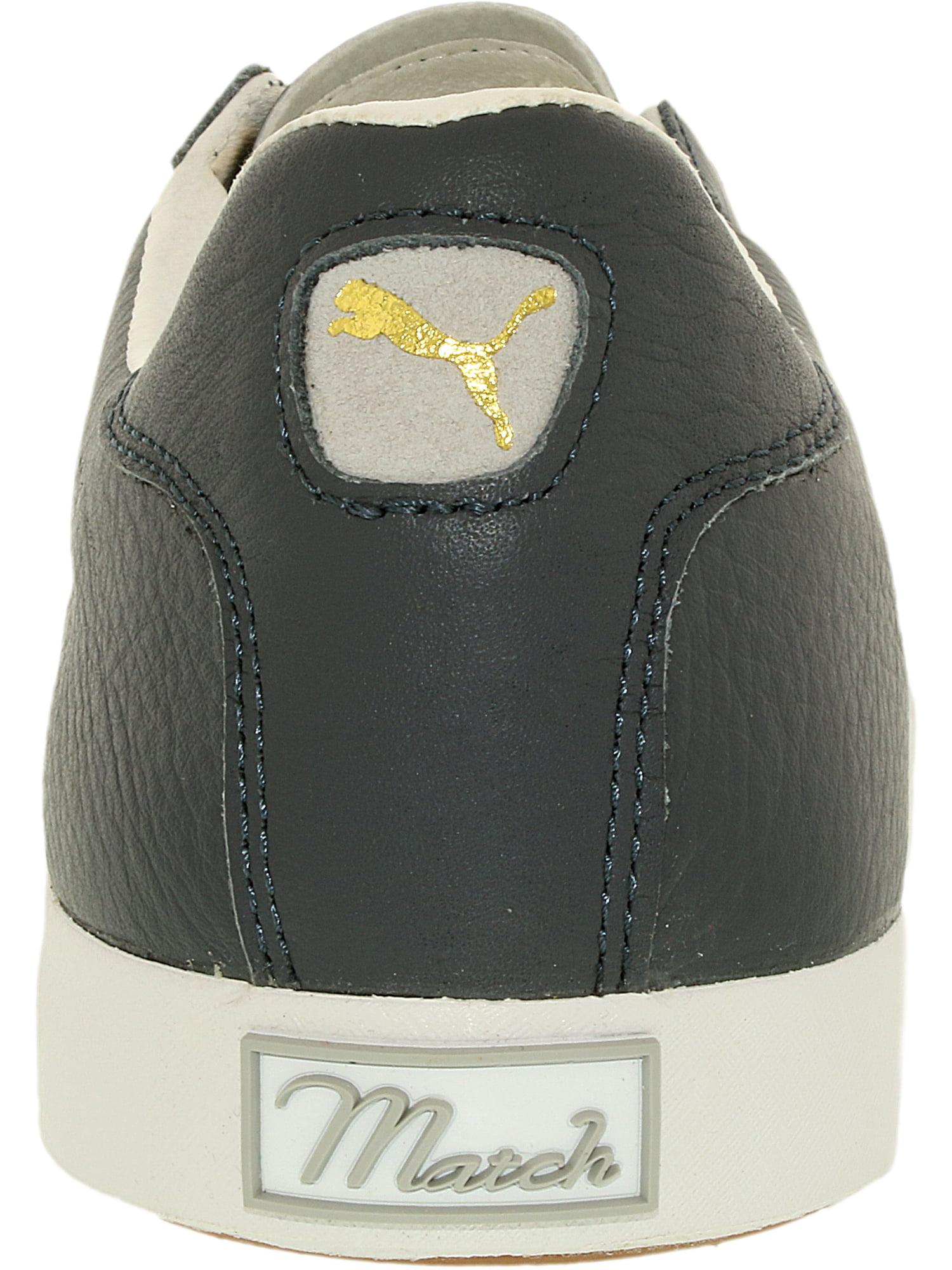 e4d5a2281882be PUMA - Puma Men s Match Vulc Turbulence Glacier Gray Ankle-High Leather  Fashion Sneaker - 10M - Walmart.com