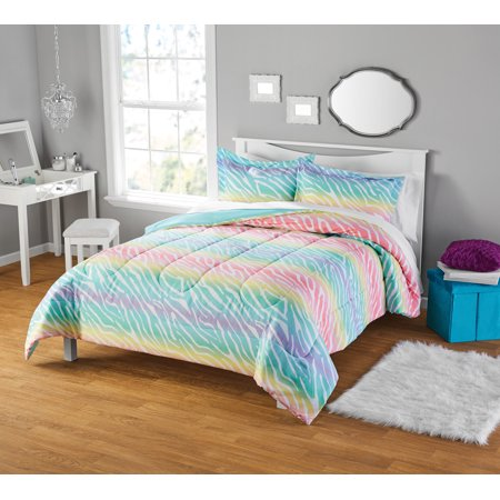 Your Zone Zebra Comforter Set, 1 Each