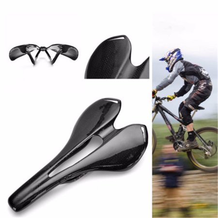 13x27cm Ultralight Full Carbon Fiber Mountain MTB Road Bike Bicycle Cycling Saddle Seat