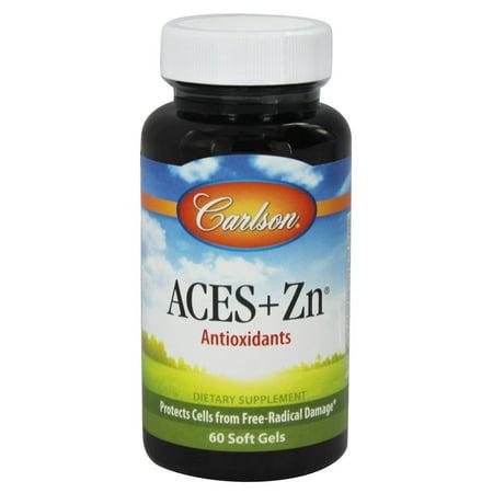 Douglas Laboratories Vitamin C Vitamins (Carlson Labs - ACES + Zn Vitamins A, C, E Plus Selenium and Zinc - 60 Softgels)