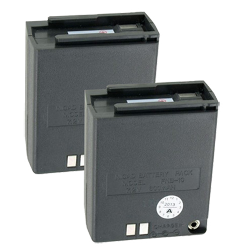 """Battery for Yaesu FNB-10 (2-Pack) Two-Way Radio Battery"""