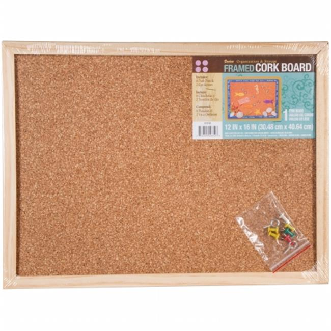 "Framed Cork Memo Board 12""X16""-  9172-63"