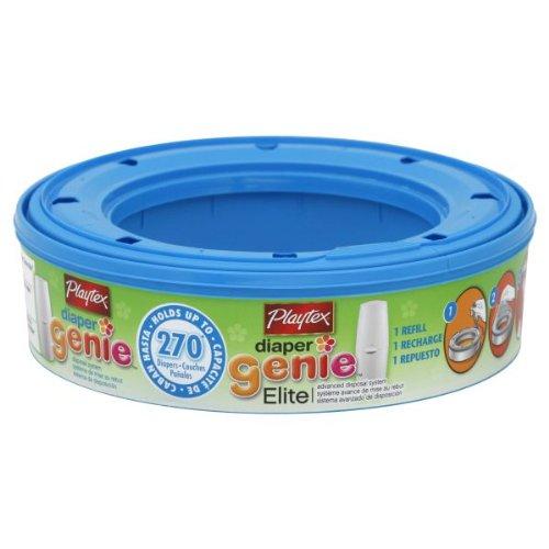 Diaper Genie Playtex Diaper Genie Elite Disposal System Refill, Advanced, (Pa...
